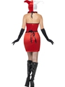 Adult Jester of Broken Hearts Costume  - Side View - Thumbnail