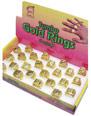 1 x Jumbo Size Gold Ring  - Back View - Thumbnail