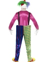 Adult Kolorful Killer Clown Costume  - Side View - Thumbnail