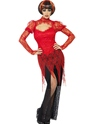 Adult Lace Devil Vampiress Costume Thumbnail