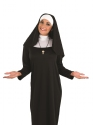 Adult Ladies Nun Costume  - Back View - Thumbnail