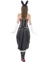 Adult Ladies Bunny Burlesque Costume  - Side View - Thumbnail