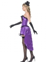 Adult Ladies Burlesque Glamour Costume  - Back View - Thumbnail