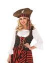 Adult Pirate Girl Costume  - Back View - Thumbnail