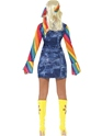 Adult Ladies Groovier Dancer Costume  - Side View - Thumbnail