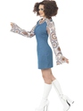 Adult Ladies Groovy Disco Dancer Costume  - Back View - Thumbnail