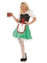 Adult Sexy Bavarian Oktoberfest Costume  - Back View - Thumbnail