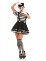 Adult Female Mime Artist Costume Thumbnail