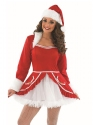 Adult Ladies Santa Baby Costume Thumbnail