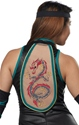Adult Ladies Sexy Ninja Costume  - Back View - Thumbnail