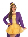 Adult Sexy Willy Wonka Costume  - Back View - Thumbnail
