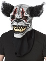 Adult Last Laugh Clown Ani-Motion Mask  - Back View - Thumbnail