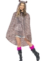 Leopard Party Poncho Festival Costume Thumbnail