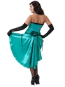 Ladies Libby Burlesque Costume  - Back View - Thumbnail