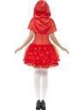 Adult Light Up Red Riding Hood Costume  - Side View - Thumbnail