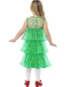 Child Little Christmas Tree Tutu Costume  - Side View - Thumbnail