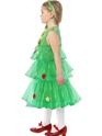 Child Little Christmas Tree Tutu Costume  - Back View - Thumbnail