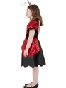 Child Little Lady Bug Costume  - Back View - Thumbnail