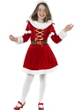 Child Little Miss Santa Costume Thumbnail