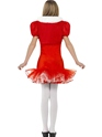 Child Little Miss Santa Tutu Costume  - Side View - Thumbnail