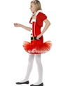 Child Little Miss Santa Tutu Costume  - Back View - Thumbnail
