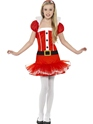 Child Little Miss Santa Tutu Costume Thumbnail