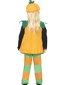 Child Little Pumpkin Toddlers Costume  - Back View - Thumbnail