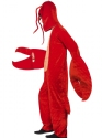 Adult Lobster Costume  - Back View - Thumbnail