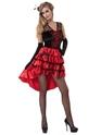 Lola Jet Burlesque Costume Thumbnail