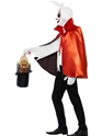 Adult Macabre Magician Costume  - Back View - Thumbnail