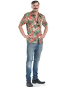 Adult Magnum Private Investigator Hawaiian Shirt  - Back View - Thumbnail