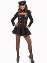 Adult Commander in Chief Army Girl Costume  - Back View - Thumbnail