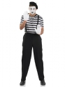 Adult Male Mime Artist Costume Thumbnail