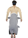Adult Man Eating Shark Costume  - Back View - Thumbnail