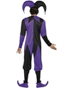 Adult Medieval Jester Costume  - Back View - Thumbnail