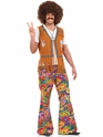Adult Mens 60's Psychedelic Trousers Thumbnail