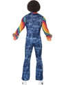 Adult Mens Groovier Dancer Costume  - Side View - Thumbnail