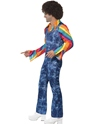 Adult Mens Groovier Dancer Costume  - Back View - Thumbnail