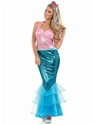 Adult Mermaid Costume  - Side View - Thumbnail