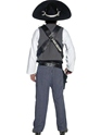 Adult Mexican Bandit Costume  - Side View - Thumbnail