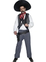 Adult Mexican Bandit Costume Thumbnail
