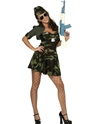 Adult Military Babe Costume Thumbnail