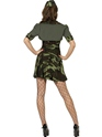 Adult Military Babe Costume  - Side View - Thumbnail