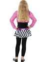 Child Mini Glam Rockstar Costume  - Side View - Thumbnail