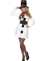 Adult Miss Snowman Costume Thumbnail
