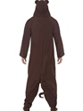 Adult Monkey Onesie Costume  - Back View - Thumbnail