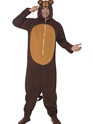 Adult Monkey Onesie Costume Thumbnail