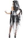 Adult Monster's & Mummies Bride Costume  - Side View - Thumbnail