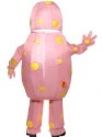 Adult Inflatable Mr Blobby Costume  - Side View - Thumbnail