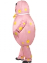 Adult Inflatable Mr Blobby Costume  - Back View - Thumbnail